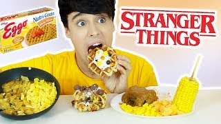 i only ate STRANGER THINGS FOODS for 24 hours