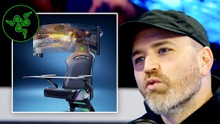 Razer's Mind-Blowing Gaming Chair Concept...