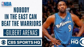 Nobody in the East Can Beat the Golden State Warriors says Gilbert Arenas | CBS Sports