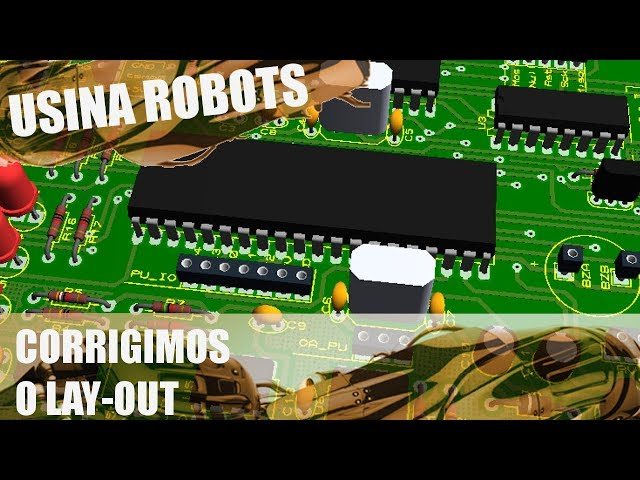 CORRIGIMOS O LAY OUT! | Usina Robots US-2 #107