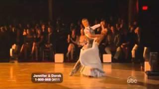 Jennifer Grey and Derek Hough Dancing with the stars WK 9 Waltz