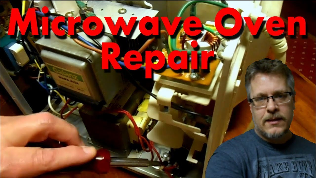 How To Fix A Microwave Oven Simple Fuse Replacement