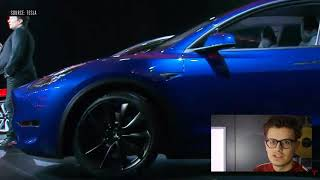 Tesla Modell Y | Reaction | Vorstellung 2019/2020 | Tesla Model Y event in 3 minutes (The Verge)
