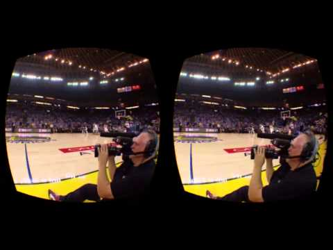 NBA Tip Off Live Stream in the Gear VR