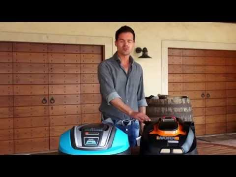 robot lawn mower test review gardena vs worx landroid. Black Bedroom Furniture Sets. Home Design Ideas