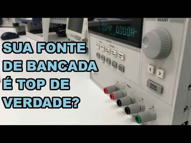SERÁ QUE SUA FONTE DE BANCADA É MESMO TOP? DESCUBRA!