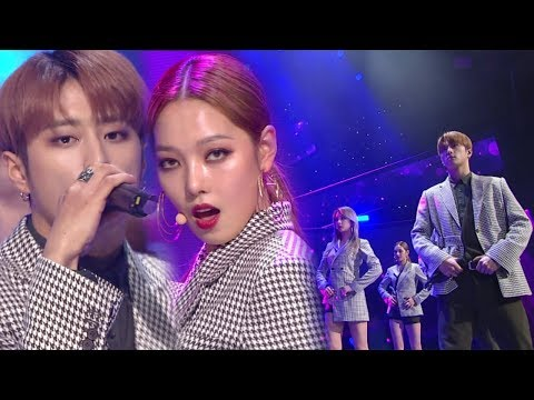 《MOURNFUL》 KARD(카드) - You In Me @인기가요 Inkigayo 20171210