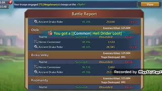 Boj na k226 v Gilde TaT ako hosť, Idun Lords Mobile