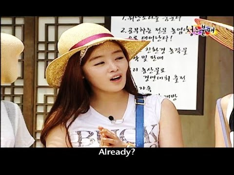 Invincible Youth | 청춘불패 - Ep.39: Harvesting the G7 potatoes!