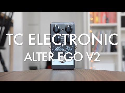 TC Electronic Alter Ego V2 Vintage Echo Delay