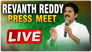 Revanth Reddy speaks after ED Investigation-Live..