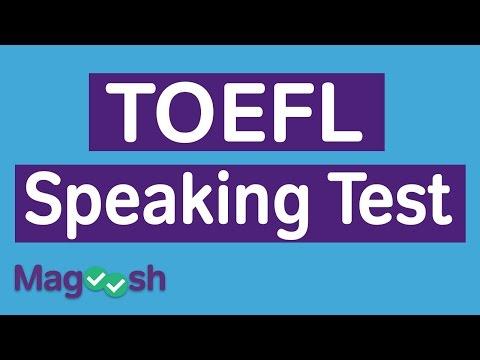 TOEFL Speaking Practice Test