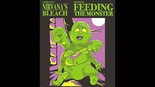 """FEEDING the MONSTER Animated show poster """"Soaked in Bleach"""" a tribute to Nirvana. (Floyd the barber)"""