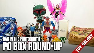 PO Box Round-Up (Boba Fett, Lots of Build-A-Figure Pieces) - Dan in the Photobooth #139