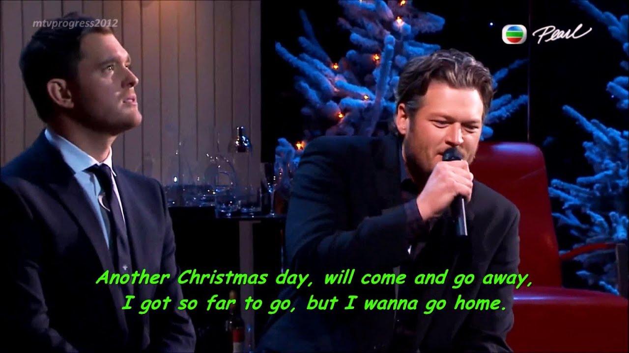 Blake Shelton & Michael Bublé [lyrics](live On