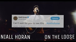 Niall Horan - On The Loose |Lyrics video|
