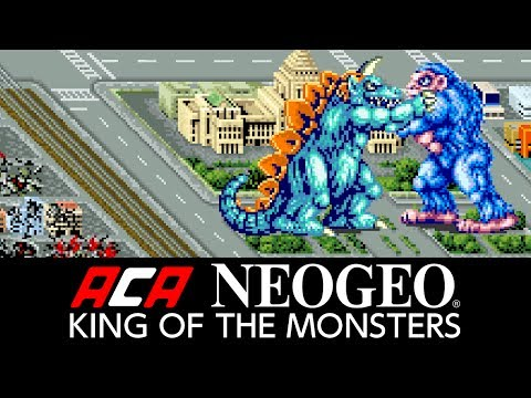 ACA NEOGEO KING OF THE MONSTERS Video Screenshot 1