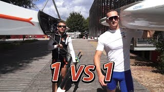 Rowing vs Kayaking in Paris - 1vs1 by HEROWS