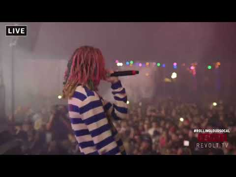 Lil Pump Live at Rolling Loud So Cal 2017