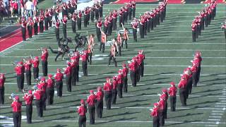 'Halftime Performance (10.25.14) - Pride of the Plains Marching Band