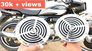 How to install megasonic roots horan in splendor plus & bike