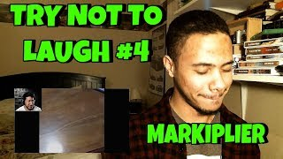 TRY NOT TO LAUGH #4 REACTION | Markiplier Reaction
