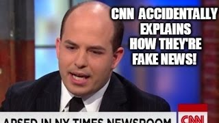 Watch CNN Accidentally Explain How They're Fake News!