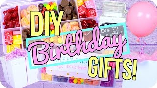Easy DIY Birthday Gifts!!