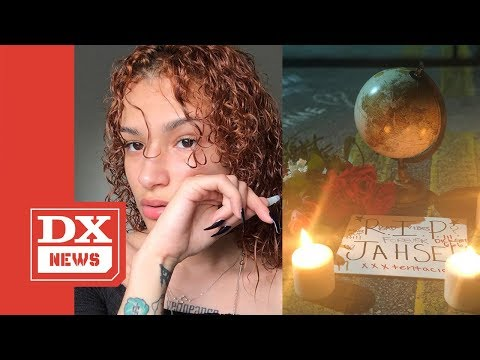XXXTENTACION Ex Girlfriend Geneva Ayala Kicked Out Of Vigil & Has Her Memorial Gifts Burned