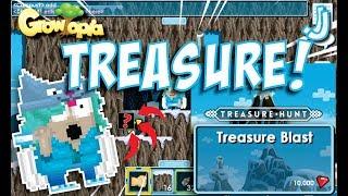 Treasure + Pengumuman!!! (Treasure Hunting)| Growtopia Indonesia
