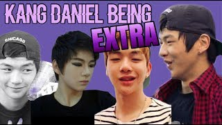 Kang Daniel Being EXTRA (extreme cuteness activated)