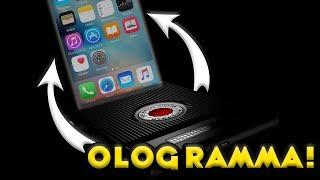 Ecco il VERO SMARTPHONE AD OLOGRAMMI