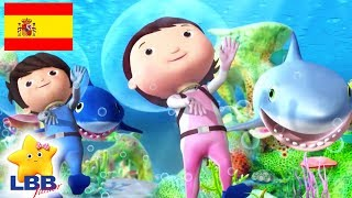 Canciones para Niños | Canción del Tiburón | Canciones Infantiles | Little Baby Bum Júnior