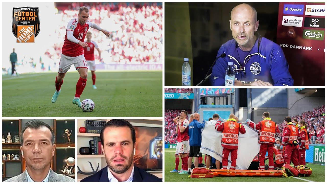 ERIKSEN Médico de Dinamarca reveló escalofriante momento: 'Hicimos que volviera' | Futbol Center