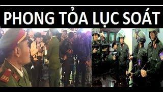 Bộ CA phong tỏa lục soát nhà tướng Vĩnh ở Nam Định