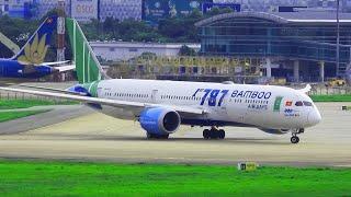 Chiếc Máy Bay Boeing 787-9 Đầu Tiên Của Bamboo Airways Cất Cánh Tại Đường Băng Tân Sơn Nhất