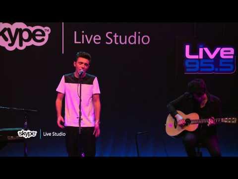 Nathan Sykes - Kiss Me Quick (LIVE 95.5)
