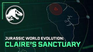 Jurassic World Evolution cuts the ribbon for Claire's Sanctuary