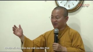 Tứ diệu đế: Pháp môn duy nhất của Đức Phật - Thích Nhật Từ - ChuaGiacNgo.com