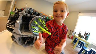 Father & Son Get LEGO DEATH STAR! / Best Lego Ever!