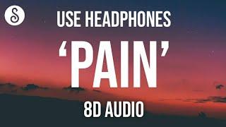 Nessa Barrett - Pain (8D AUDIO) 🎧
