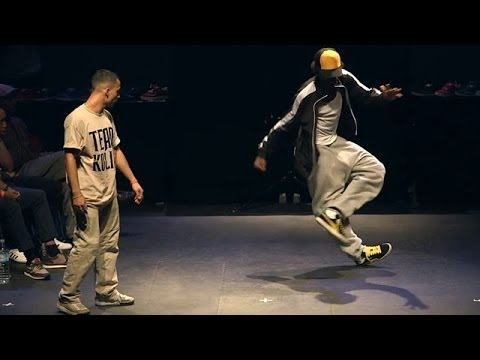 Dance battle: Majid vs Mamson - I Love This Dance 2012