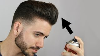 How to Make Your Hair Stay UP ALL DAY LONG! Men's Hair Tutorial | Alex Costa