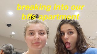 breaking into my best friends apartment (all nighter vlog) | Olivia Rouyre