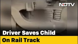 2-yr-old boy miraculously survives as train runs over him..