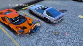 GTA 5 Epic Ragdolls Compilation #10 (Euphoria physics | Funny Moments)