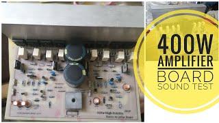 400 watts 2 1 Amplifier Board | 2sc5200 and 2sa1943