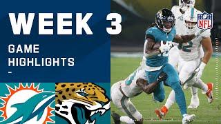 Dolphins vs. Jaguars Week 3 Highlights   NFL 2020