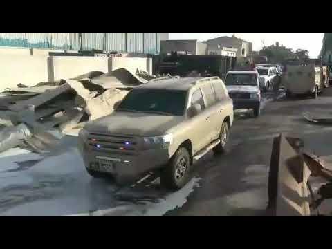 مليشيا الحوثي تستهدف موكب رئيس اللجنة الأممية الجنرال باتريك كاميرت في الحديدة