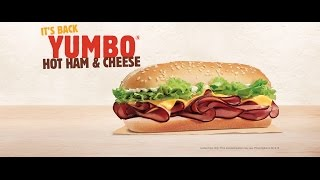 CarBS - Burger King Yumbo Hot Ham & Cheese Sandwich